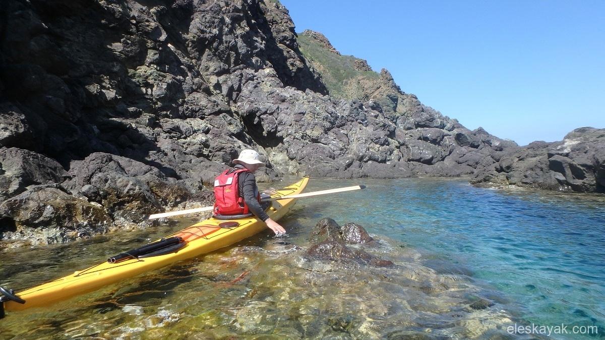 Tengeri kajak Elba sziget Olaszország