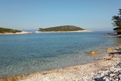 Tengeri kajak Lastovo sziget