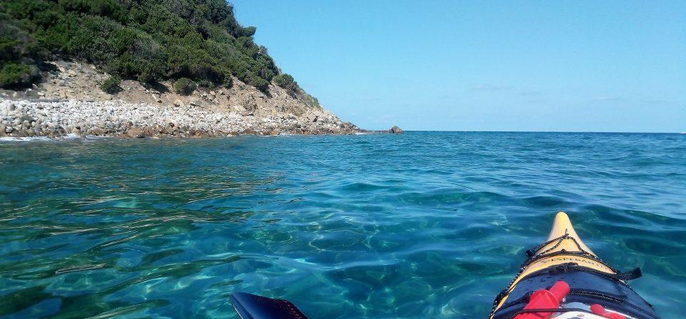 Elba szigetkerülés tengeri kajakkal